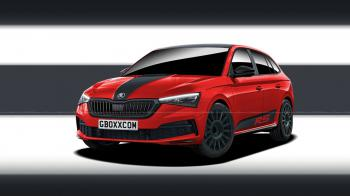 To Skoda Scala RS;