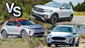 Ford Fiesta Active VS Kia Stonic VS VW T-Cross