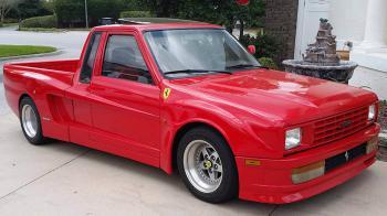 Ferrari σε φορτηγάκι;