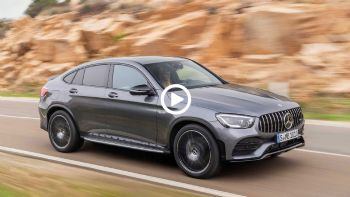 Video: Νέα Mercedes-AMG GLC 43 Coupe με 390 PS