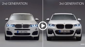 BMW X3: Old vs New