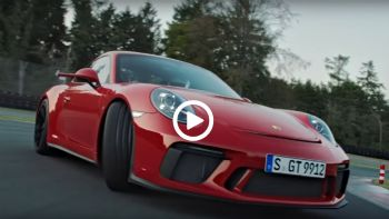 Η νέα 911 GT3 στην πίστα