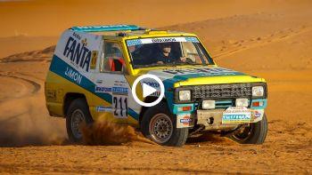 To Nissan Patrol του Dakar