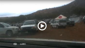Ράλι στο πάρκινγκ
