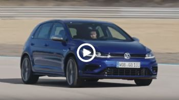 Το νέο VW Golf R σε δράση