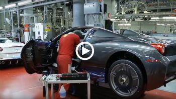 Στο εργοστάσιο της Ferrari