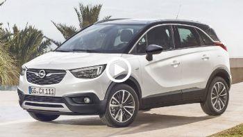 Opel Crossland X σε δράση