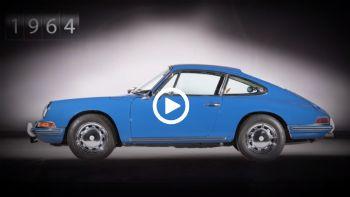 H εξέλιξη της Porsche 911