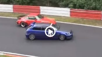 Porsche 911 Vs Honda Civic