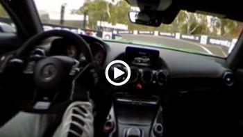 Η AMG GT R στην πίστα