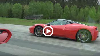 Lamborghini ή Ferrari;