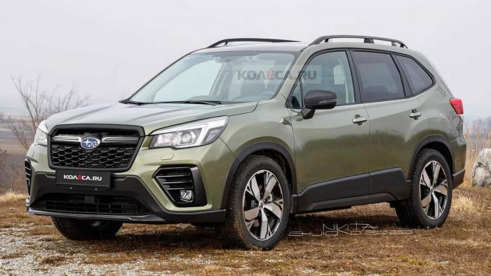 Τα σχέδια προβλέπουν το ανανεωμένο Subaru Forester