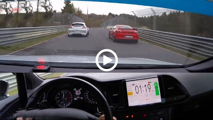 Leon Cupra Vs Megane Rs Vs Cayman Gt4 Porsche Gt4 Renault Megane Rs Seat Le