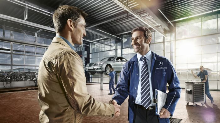 Service mercedes benz after sales mercedes for Mercedes benz service promotional code