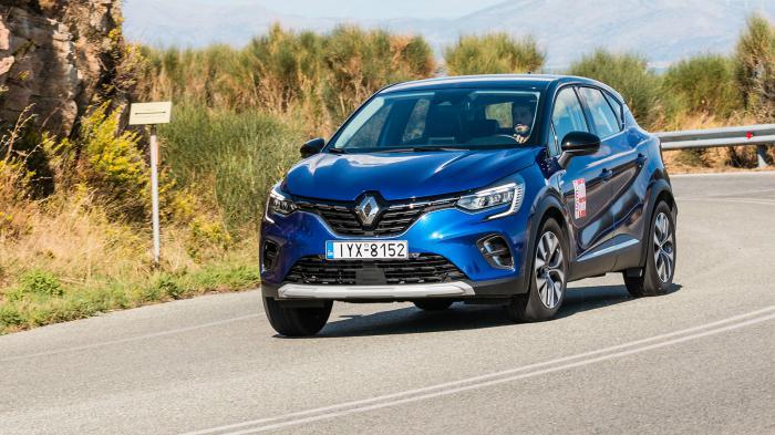 Οι αναγνώστες οδήγησαν το Renault Captur, συν-οδηγό AutoTriti