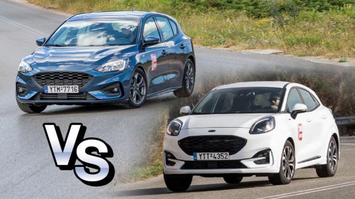 Στα ίδια λεφτά ποιο Ford ST-Line να πάρω; Focus ή Puma;