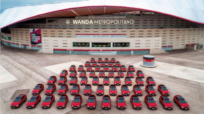 Ένα Hyundai Tucson σε κάθε παίκτη της Atl233tico Madrid