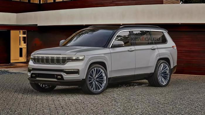 Τα σχέδια ανακοινώνουν το νέο Jeep Grand Cherokee