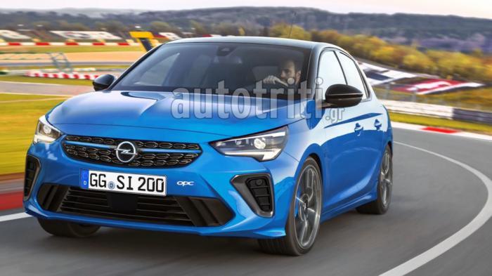 Αποκλειστικό: Νέο Opel Corsa OPC