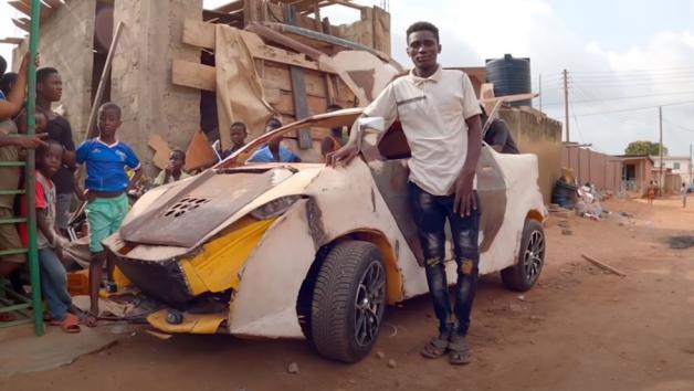 Ένας 18χρονος Γκανέζος δημιούργησε ένα αυτοκίνητο για 150 ευρώ