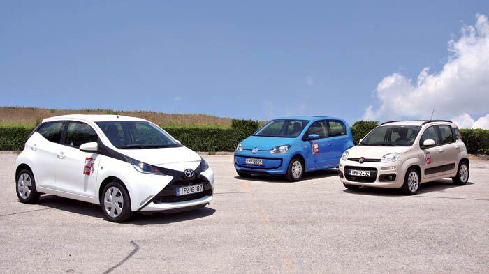 Dealers Fiat Panda Toyota Aygo Volkswagen Up