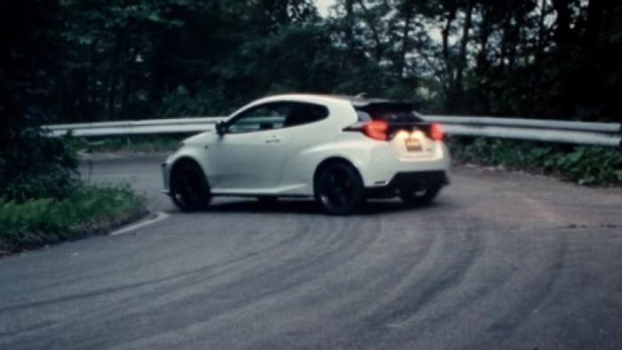 Ο GR Yaris παρασύρεται στο νέο βίντεο της Toyota