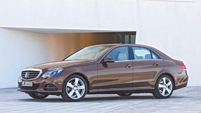 mercedes, ������� - Mercedes E300 BlueTEC Hybrid