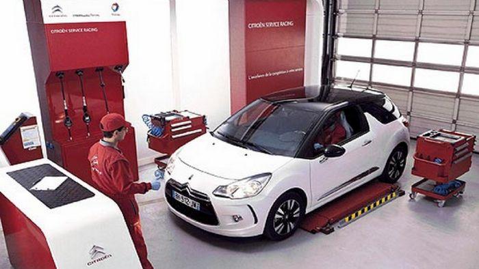 e-auto shops, service, ������������, �������� ����������� - Citroen ���������: ������ Service ����������� �� 125 ����!