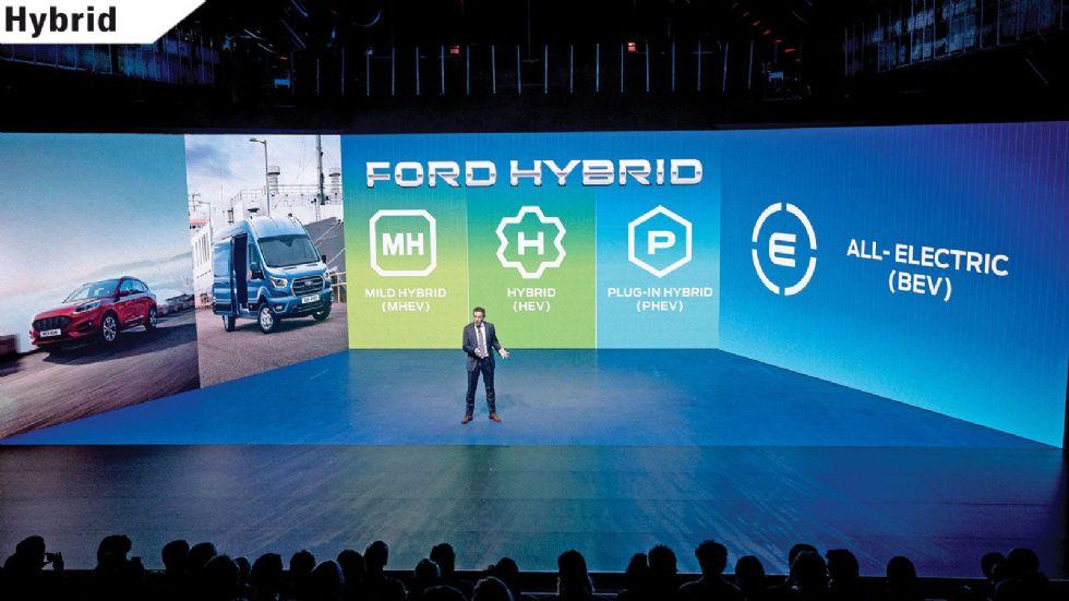 Τα 14 νέα εξηλεκτρισμένα μοντέλα της Ford