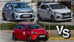 Kia Picanto Vs Mitsubishi Space Star Vs Toyota Aygo